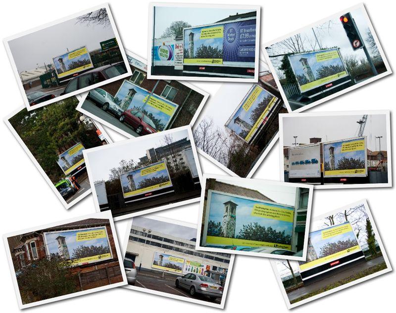Billboardscollage