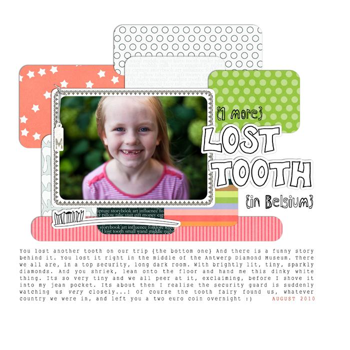 Lost toothweb