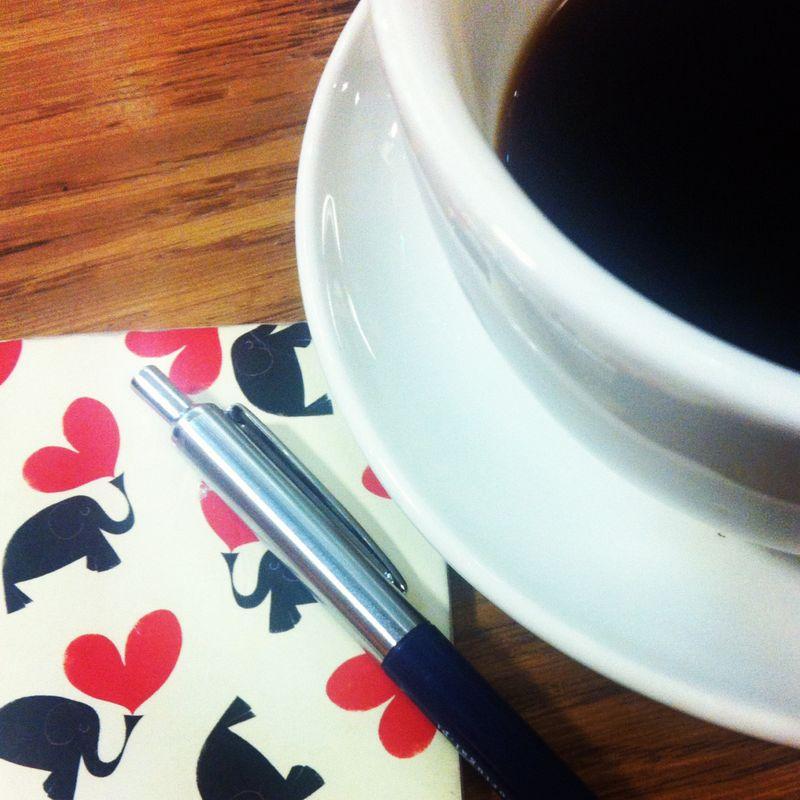 Coffeewriting