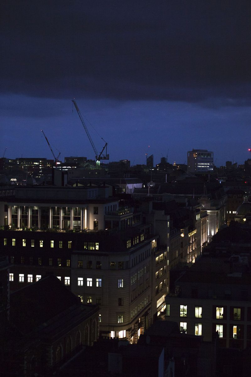 Lateevening London